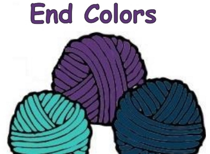 Cotton end colors to coordinate with Bre-Aly Gradients image 0