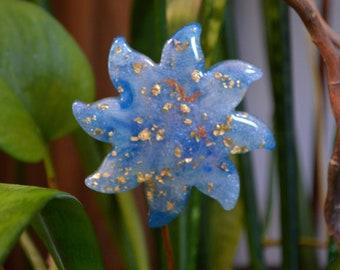 Cosmic Sparkle Plant Stake ~ Sun Catcher ~ Your Choice ~ Small Sun Decor ~ Sparkling Resin Art ~ Boho Plant Decor ~ Boho Style