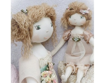 Rosie Hope & Little Lucy digital downloadable epattern / doll sewing pattern by Verity Hope / PERMISSION TO SELL