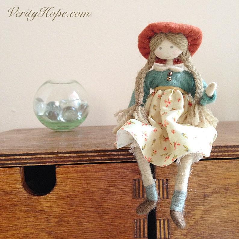 Vintage Style dollshouse dolls digital tutorial