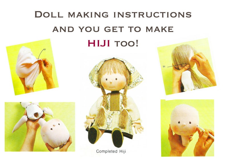 Eliza Doolittle PDF Cloth Doll Pattern Instant download to Make /& Sell