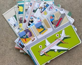 Passport Holder- Airline Safety Cards- Choose 1