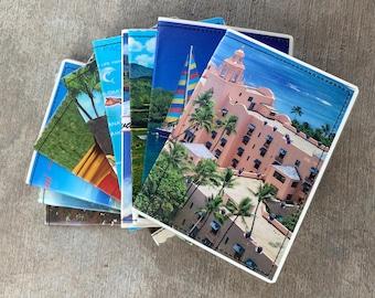 Slim Wallet- Vintage Hawaii Postcard- Choose 1