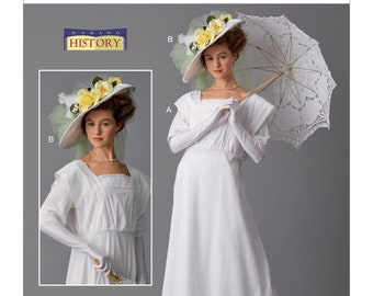 Butterick Pattern 6610-Loose Fitting Dress Pride n Prejudice - Plus Size 14-22