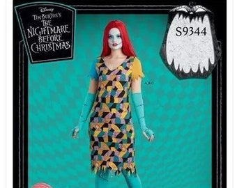 Simplicity Sewing Pattern 9344 Sally Nightmare Before Xmas  Costume Size XS-XL