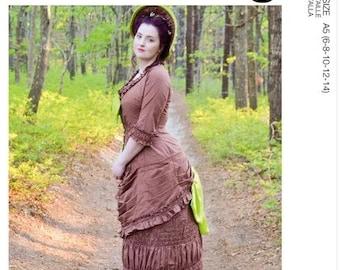 McCall's Pattern 8191- 1800's Victorian Skirt -Costume Dress size 6-14