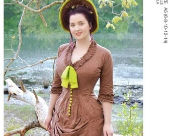 McCall's Pattern 8189- 1800's Victorian Top -Costume Dress size 6-14