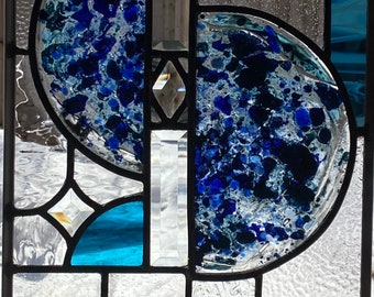 Blues 2021 - Stained Glass Panel