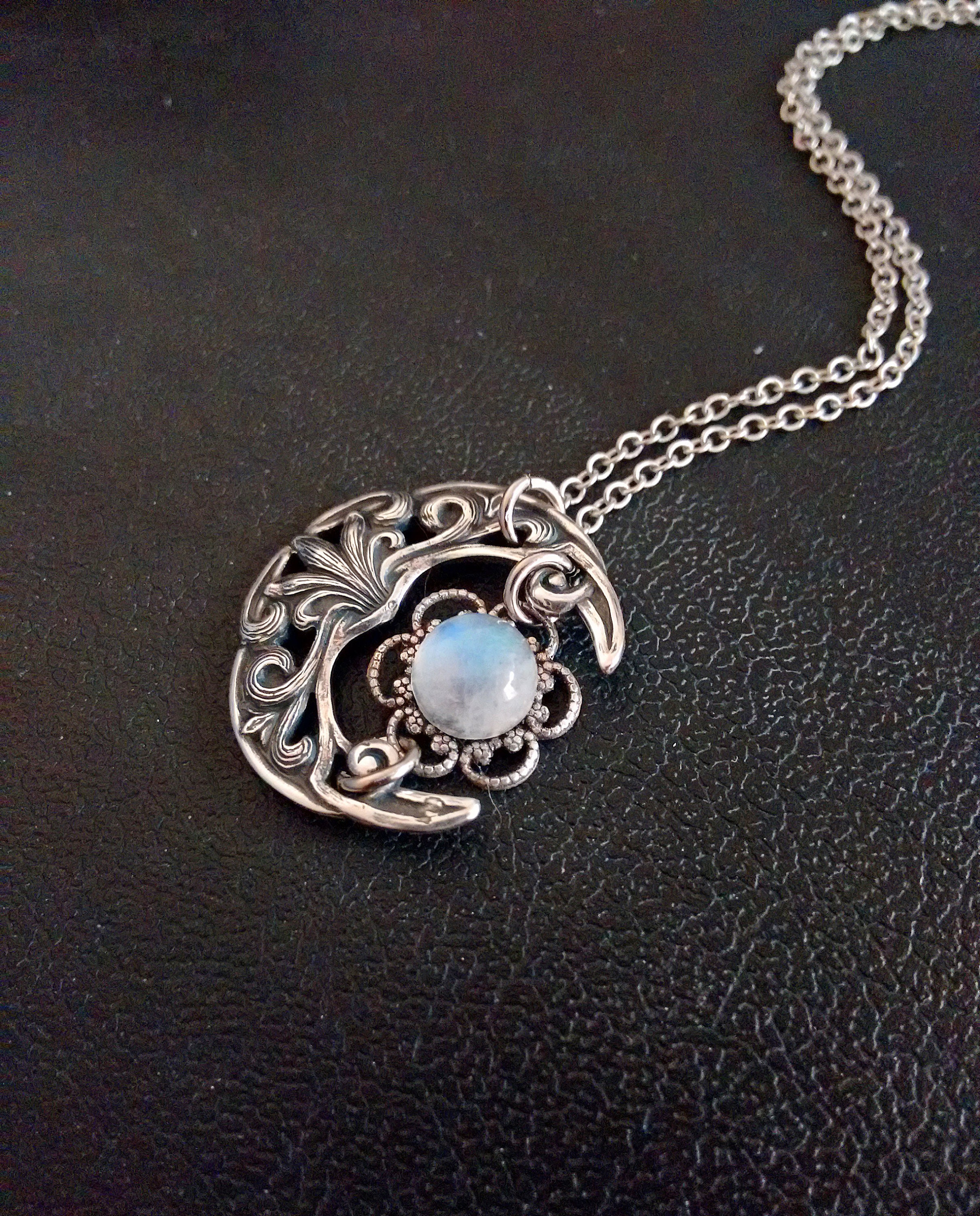 celtic moonstone pendant - HD 2419×3000