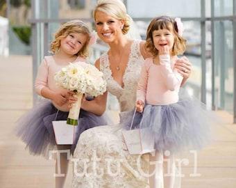 Wedding Tutu for Flower Girl, Tutu Skirt Custom