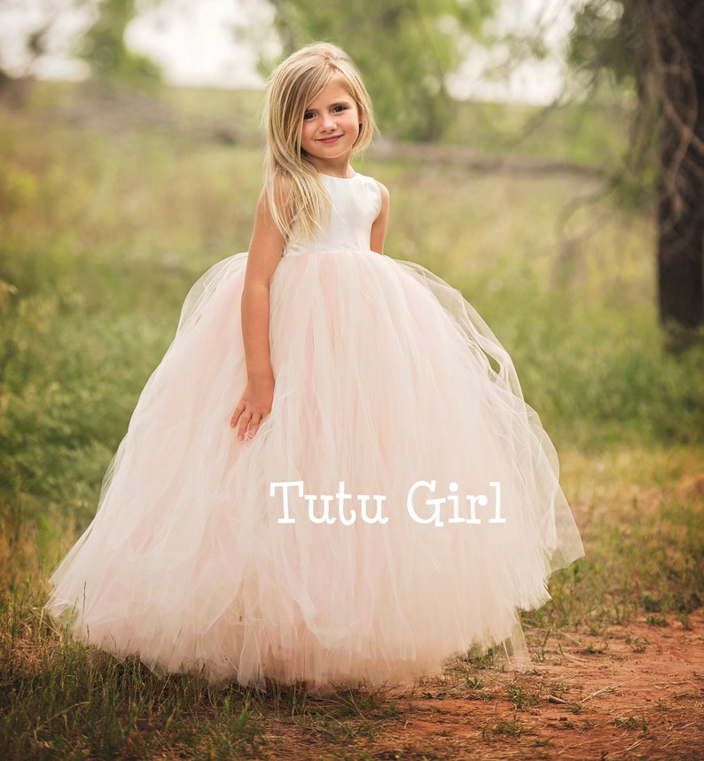 ec884c0db15 Flower Girl Dresses Tulle Flower Girl Dress Blush Blush Tutu