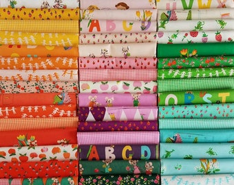 Trixie + Kinder Collections - Heather Ross Fabric - 45 Fat Quarter Bundle - Last One