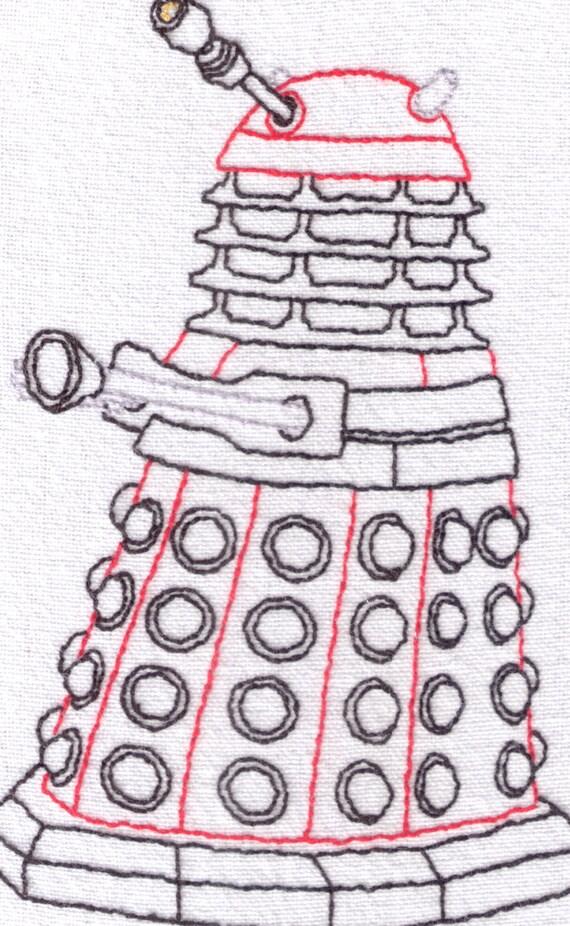 colore verde Doctor Who-Dalek-Biglietto di auguri