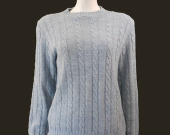 Light Blue Sweater Etsy