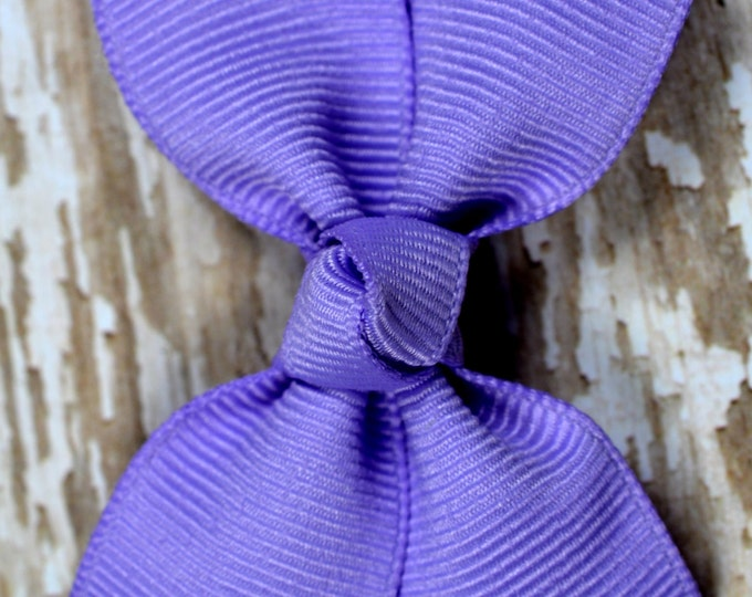 Orchid Hair Bow 2.5 Inch Pinwheel Boutique Bow for Babies Toddlers Girls Hair Bows