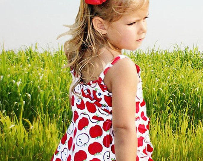6 in. Red Hair Bow - XL Hair Bow - Big Hair Bows - Girl Hair Bows