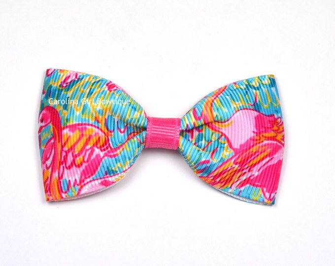 """Peel -n- Eat ~ 3"""" Hair Bow Tuxedo Bow ~ Lilly Inspired ~ Simple Bow ~ Boutique Bow for Babies Toddlers ~ Girls Hair Bows"""