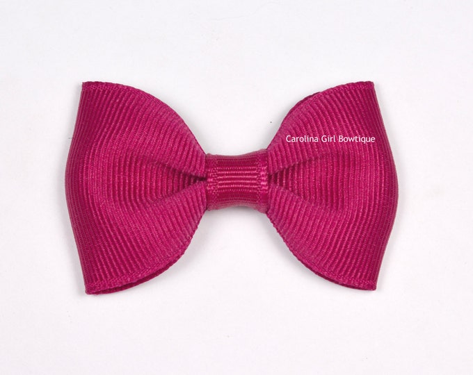 """Azalea 2.5"""" Hair Bow Tuxedo Bow Simple Bow Boutique Bow for Babies Toddlers Girls Hair Bows"""