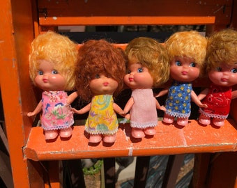 Vintage Plastic Doll Collection