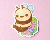 Bumble Honey Bee Vinyl Decal Stickers - 3 inch Indoor/Outdoor Die Cut