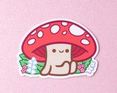 Mushroom Vinyl Decal Stickers - 3 inch Indoor/Outdoor Die Cut