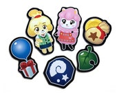 Animal Crossing Magnets - Magnet Set With Isabelle and Reese