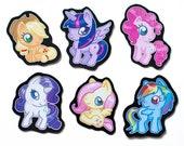 My Little Pony Magnet Set - Mane Six - FiM Magnets