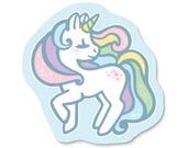 Pastel Rainbow Unicorn Magnet
