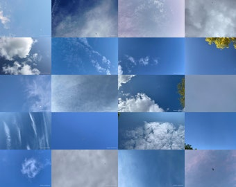 Zenithgram Screensaver Images with Clouds, Sun and Sky - Objects