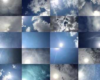 Zenithgram Screensaver Images with Clouds, Sun and Sky - Solar