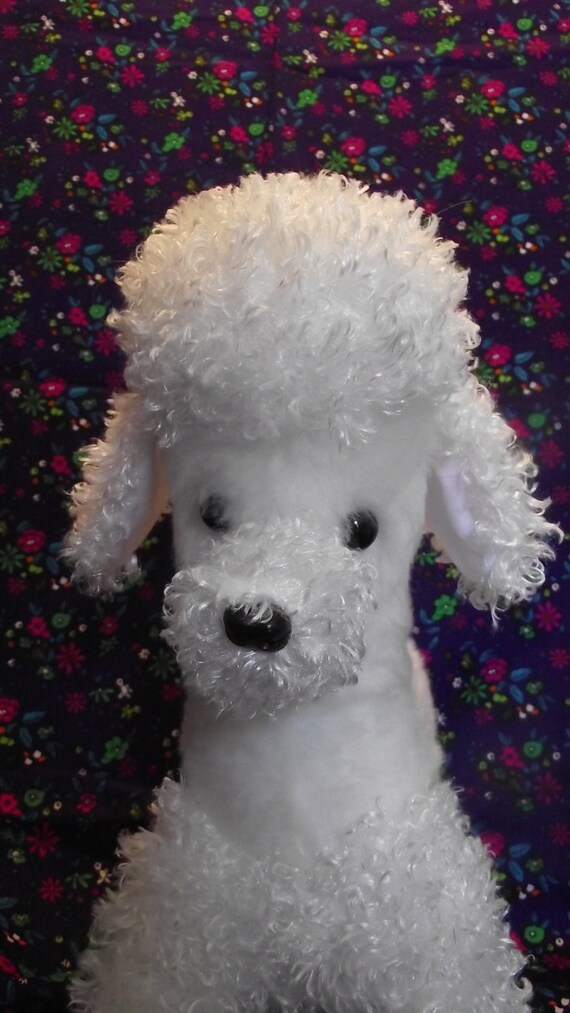 Poodle Puppy Dog Stuffed Animal Pattern For You To Sew Etsy