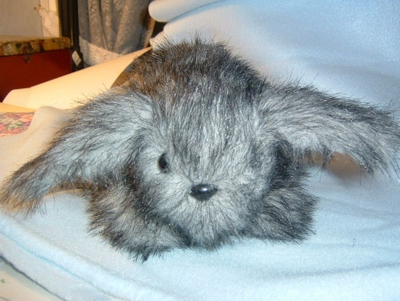Mini Lop Eared Bunny Rabbit Stuffed Animal Pattern To Sew Etsy