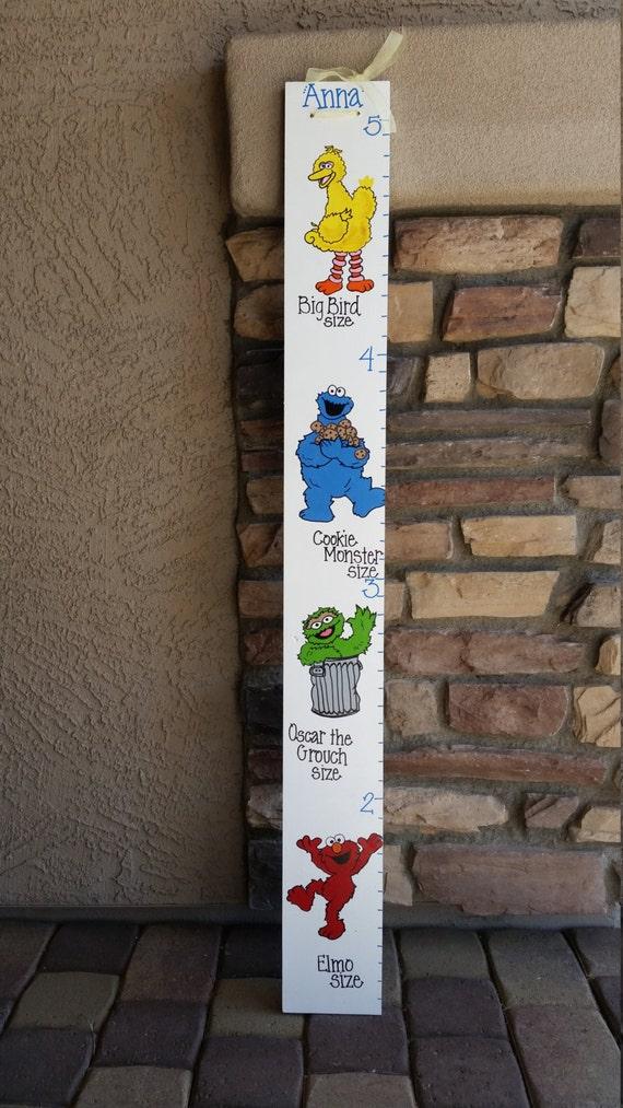 Sesame Street Growth Chart Etsy