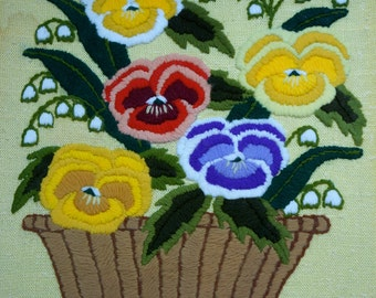 Pansy Needlework