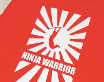 Ninja Warrior Iron-on Decal