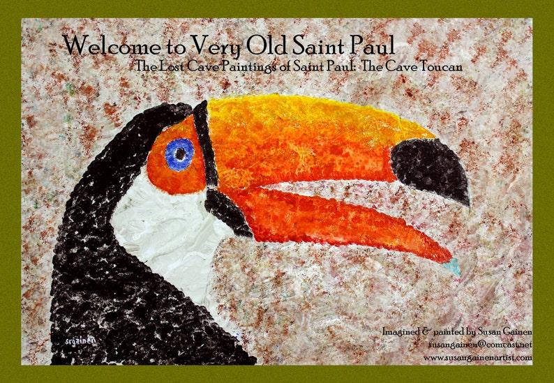 Postcards Toucan Postcard Parrot Postcard Horse Postcard image 0