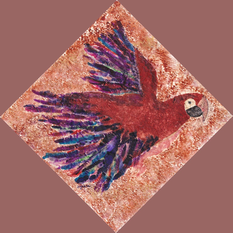 Bird Bird Art Parrot Parrot Art Red Parrot Red Parrot image 0