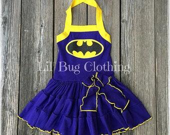 607d7034c5b Purple batgirl dress   Etsy