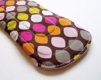 "8.75"" 22cm Non-Waterproof Cotton Panty Liner, Brown Pink Green Orange, Cloth Menstrual Pad Light Cloth San Pro CSP Plus Size Panty Liner Pad"