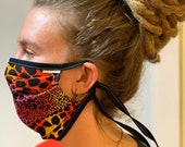 Face Mask Adult Reversible Washable Comfortable