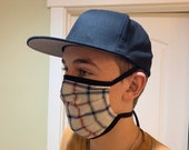 Face Mask Unisex Adult Reversible Washable Comfort Fit