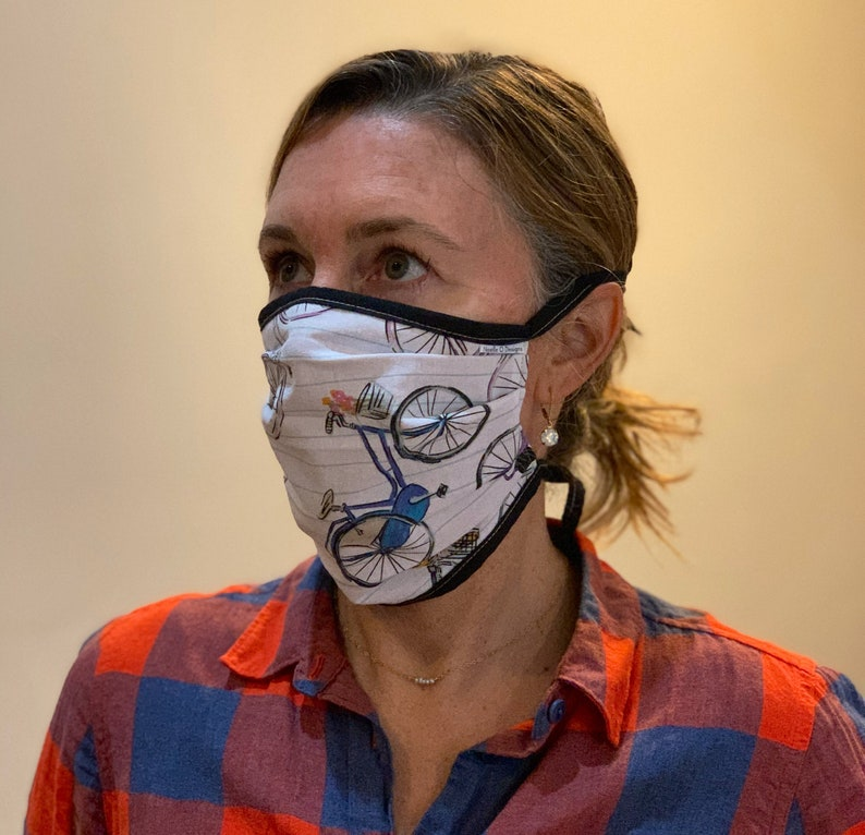 Face Mask Adult Reversible Washable Comfortable image 0