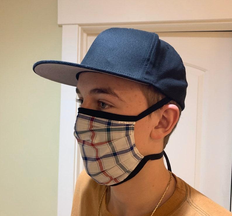 Face Mask Unisex Adult Reversible Washable Comfort Fit image 0
