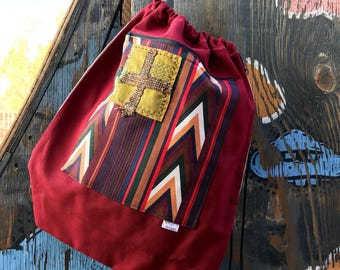 Chris- drawstring backpack