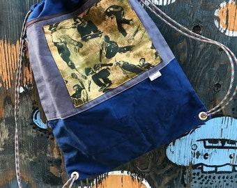 Jesse- drawstring backpack