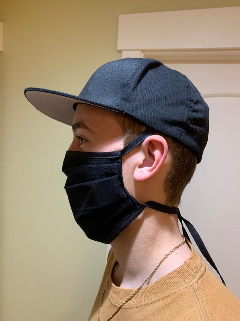 Face Mask Unisex Adult Reversible Washable image 0