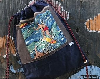 Jordan- drawstring backpack