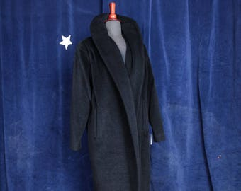 Vintage 1950s Designer Lilli Ann Shawl Collar Swing Coat -  Size S-L