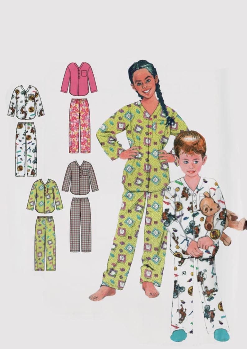 47b9b9fba Childrens Pajamas Christmas Pajamas Wrap Robe Belt Top and