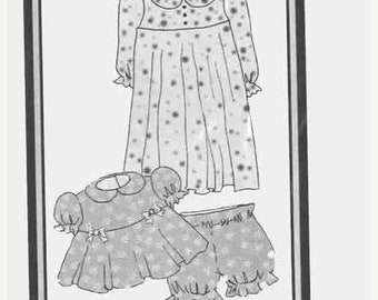 "ON SALE My Twinn Dolls Sewing Pattern No. 74504 Summer & Winter PJs Original Doll Clothes Sewing Pattern for 23"" Doll   Morrissey Co 2001 UN"